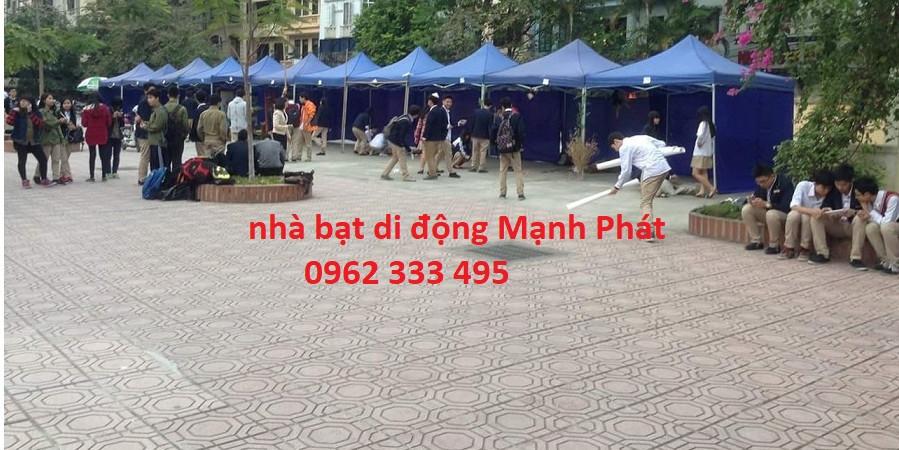 Nhà bạt di động tại Hà Nội