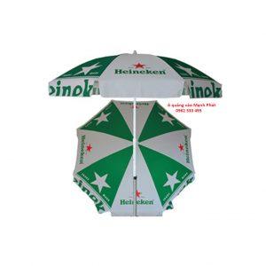 ô dù quảng cáo Heineken