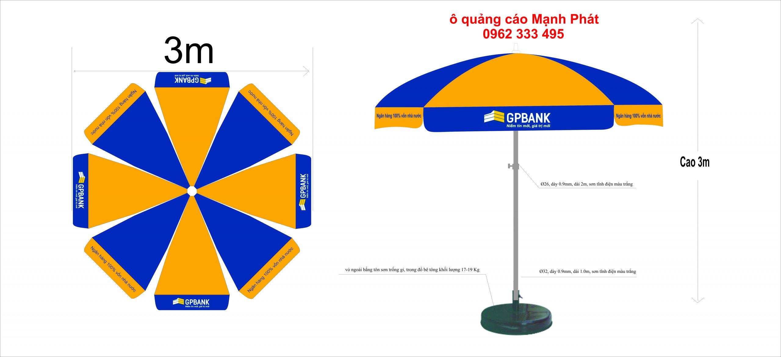 ô quảng cáo ngân hàng GPbank