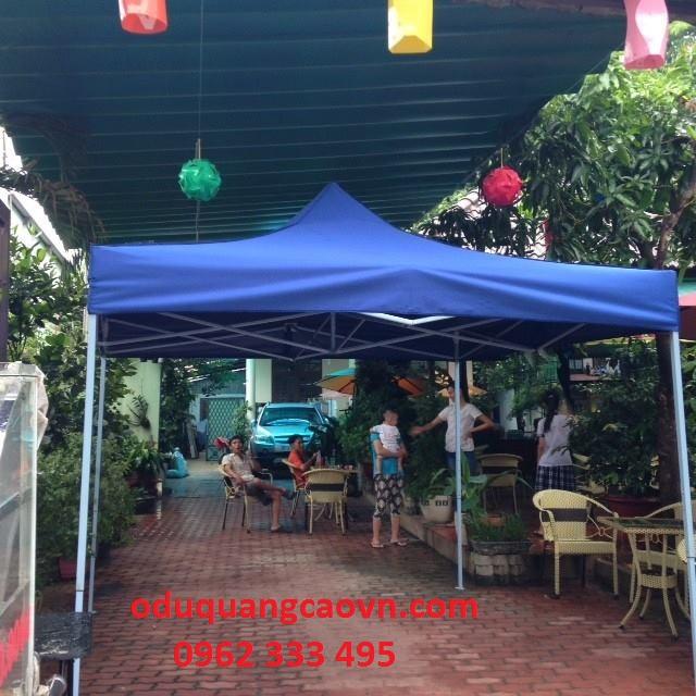Nhà bạt di động 3m x 3m tại quán cafe