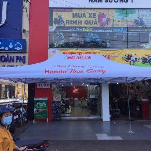 Nhà bạt di động hãng Honda Nam Sương