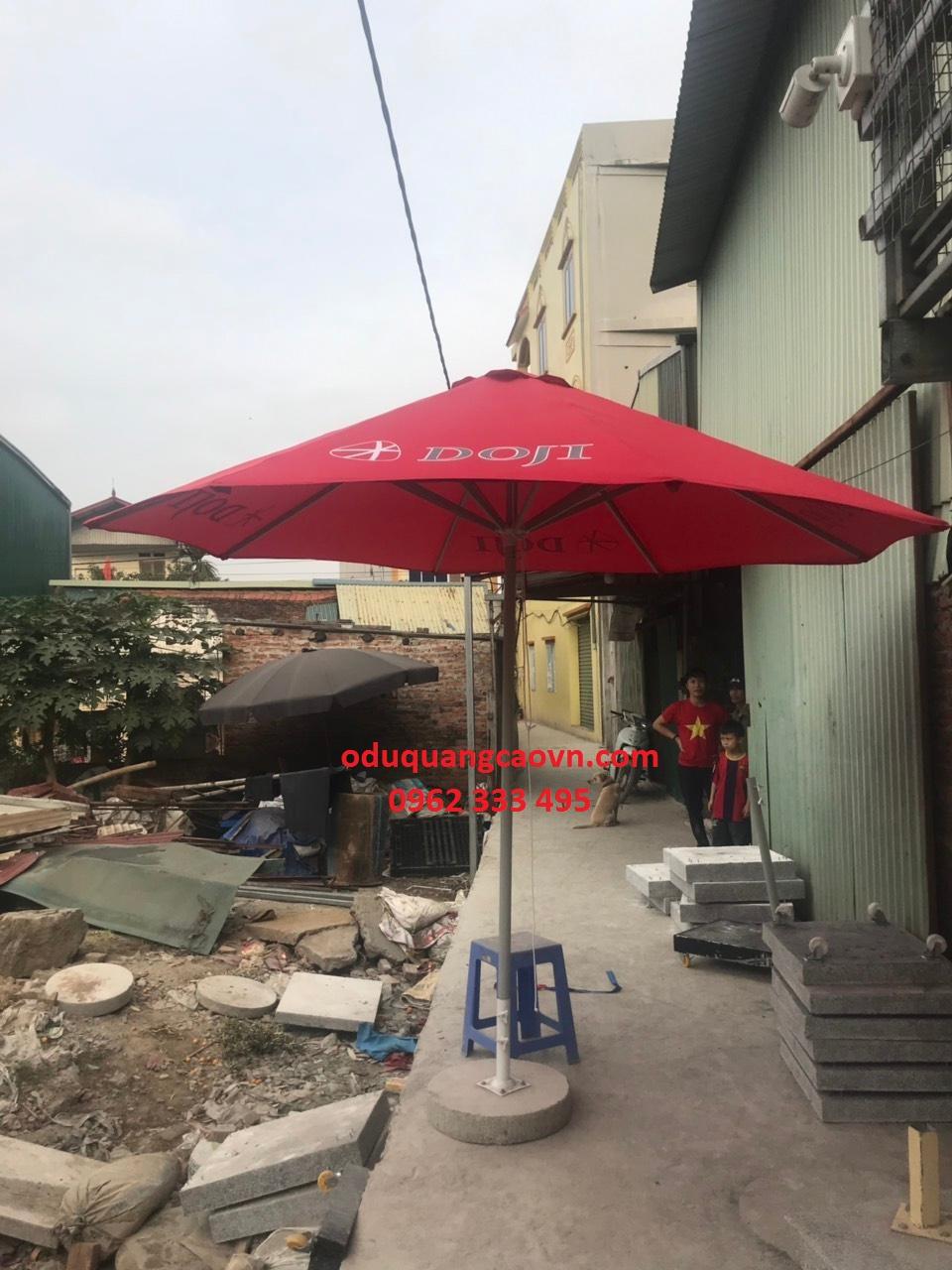 ô dù chính tâm cho các cửa hàng